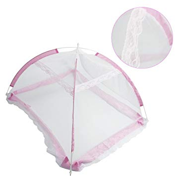 Sealive Baby Mosquito Net Baby Toddler Bed Crib Canopy Netting Dome Hanging Mosquito Soft Breathable...